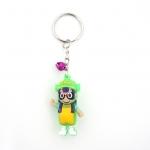 พวงกุญแจยาง อาราเล่(สีเขียว) 12อัน