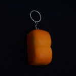 พวงกุญแจ สกุชชี่ขนมปังปอนด์ 12อัน