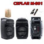 M-801 CEFLAR SPEAKER 8inch+MIC*1 BT/USB/LIGHT