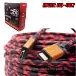HD-407 OKER Cable HDMI/HDMI 1.4K/PACKET