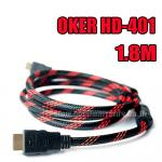 HD-401 OKER Cable HDMI/HDMI 1.8m. PACKET
