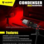 M66 NUBWO Microphone พร้อมขาตั้ง/ 3.5mm