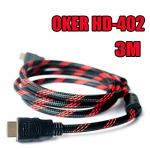 HD-402 OKER Cable HDMI/HDMI 3m. PACKET