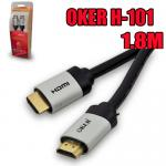 H101 OKER Cable HDMI/HDMI 1.8M 1.4K/PACKET