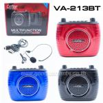 CEFLER VA-213 วิทยุ+ลำโพงพกพา bluetooth