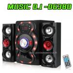 D-6380 Speaker MUSIC D.J. BLUETOOTH FM/KA/MIC USB