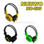 NO-029 BLACK NUBWO HEADPHONE+MIC