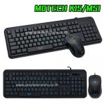 KB-15+M51 MD-TECH KEYBOARD+MOUSE USB