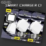 C1 SENDAM SMALLTALK ตัวชาร์ท และ สายชาร์ท สมาร์ทโฟน ไอโฟน และ แอนดรอยย์