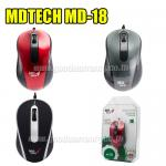 MD-18 MD-TECH Mouse Optical USB