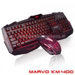 KM400 MARVO KEYBOARD+Mouse 6ปุ่ม USB