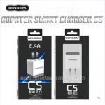 C5 SENDAM SMALLTALK ตัวชาร์ท และ สายชาร์ท สมาร์ทโฟน ไอโฟน และ แอนดรอยย์ 2.4 แอมป์เต็ม