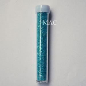ผงอะคริลิคผสมกากเพชร สีฟ้า 2-3 กรัม