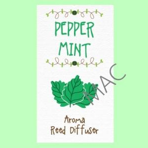 BERRY MINT REED NOTE/สีเขียว/Fruity Fresh note/ใช้ปรับอากาศให้หอมสดชื่น