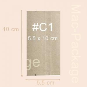 ซองใส่สบู่คร๊าฟ ซีลกลาง #1 ขนาด 5.5 x 10 cm