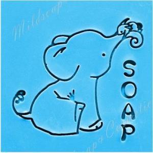 BOB SOAP STAMP 5.2 x 5.2 CM.