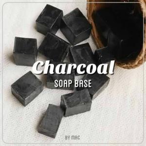 CHARCOAL SOAP BASE เบสสบู่ถ่านไม้ไผ่