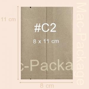 ซองใส่สบู่คร๊าฟ ซีลกลาง #2 ขนาด 8 x 11 cm