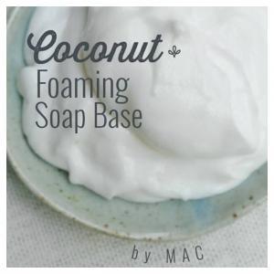COCONUT WHIPPING FOAM SOAP BASE สำหรับทำสครับ