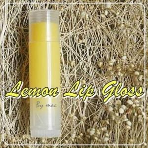 LEMON LIP GLOSS สีเหลือง กลิ่นเลม่อน