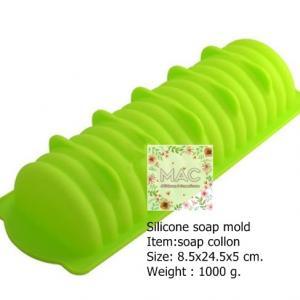 พิมพ์ SOAP COLLON ขนาด 24.5 x 8.5 x 5ซม.1000 กรัม