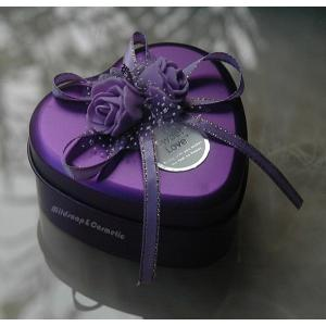 Heart Box สีม่วง