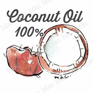 COCONUT OIL 100 % น้ำมันมะพร้าว