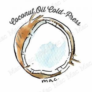 COCONUT OIL COLD-PRESS น้ำมันมะพร้าว สกัดเย็น