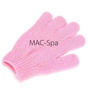 ถุงมืออาบน้ำขัดตัว 1 ข้าง สีชมพู