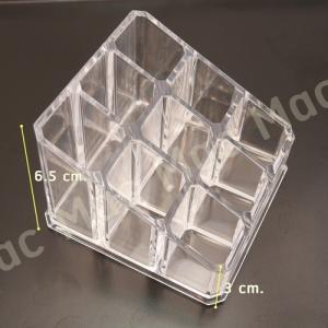กล่องอะคริลิกใส ใส่ลิปสติก 9 ช่อง
