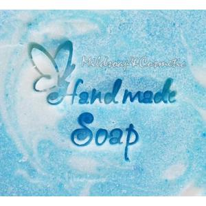 HANDMADE BUTTERFLY SOAP STAMP 4.2 X 4.2 CM.