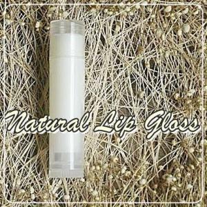 NATURAL LIP GLOSS ไม่ผสมสี กลิ่นวนิลา