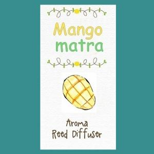 MANGO MANTRA REED NOTE/สีเขียว/Fruity Aromatic note/ใช้ปรับอากาศให้หอมสดชื่น สงบ มีสมาธิ