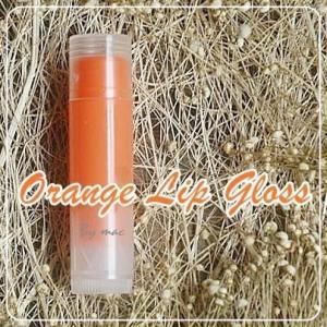 ORANGE LIP GLOSS สีส้ม กลิ่นส้ม