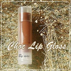 CHOC BROWNE LIP GLOSS สีน้ำตาล กลิ่นชอค บราวนี่