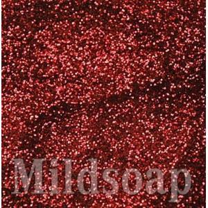 RED GLITTER สีแดงผงกากเพชร