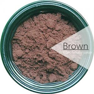 สีน้ำตาล/ละลายน้ำ /BROWN / ชนิดผง