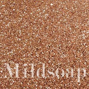 COPPER GLITTER สีทองแดงผงกากเพชร