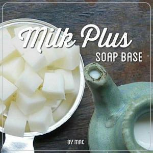 MILK PLUS SOAP BASE เบสสบู่ขาวมิลพลัส / SLS Free /Paraben Free