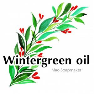 Wintergreen oil น้ำมันหอมระเหย วินเทอกรีน