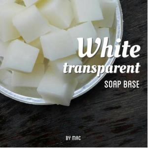 WHITE TRANSPARENT SOAP BASE เบส สบู่ขาว/ SLS Free/Whipping Foam ฟองหนานุ่ม