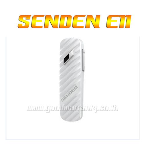 E11 SENDAM หูฟังบูลทูส สีขาว