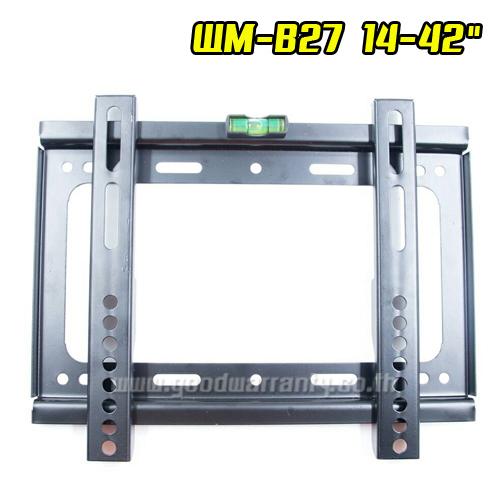 "WM-B27 ขาแขวนพนัง TV 14-42"" FLAT PANEL TV"