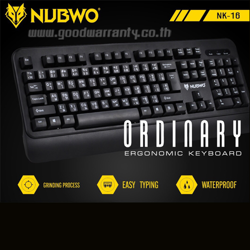 NK-16 ORDIAARY NUBWO KEYBOARD USB