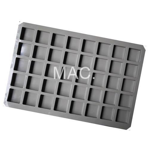พิมพ์ซิลิโคน SOAP TESTER /2.5x2.5x1.4cm /10 กรัม / 40 หลุม