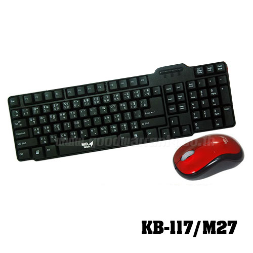 KB-117/M27 MD-TECH KEYBOARD+MOUSE USB
