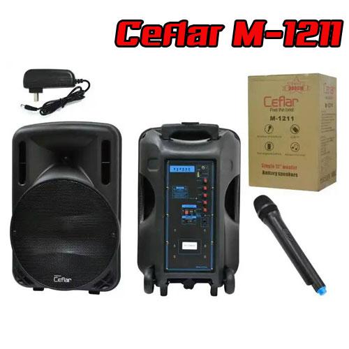 """M1211 CEFLAR SPEAKER 12""""+MIC*1 BT/USB"""