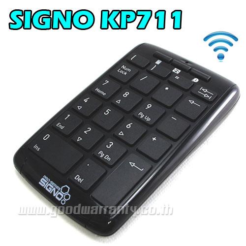 KEYPAD KP-711 SIGNO USB WIRELESS