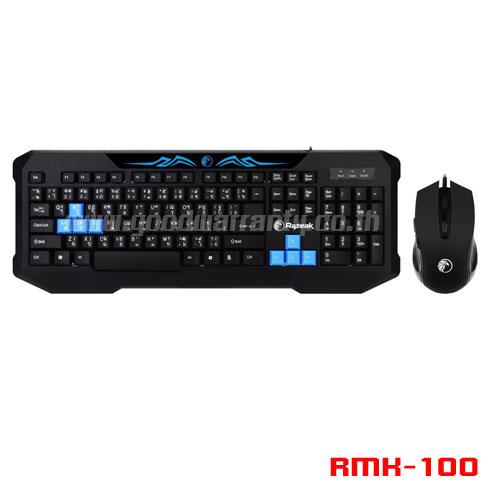 RMK-100 RAZEAK KEYBOARD+MOUSE USB