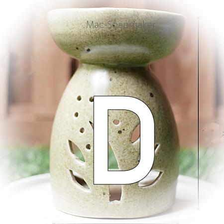 เตาอโรม่า ขนาด D (8.0 x 13.0 cm.) มี ลาย และสี ให้เลือก